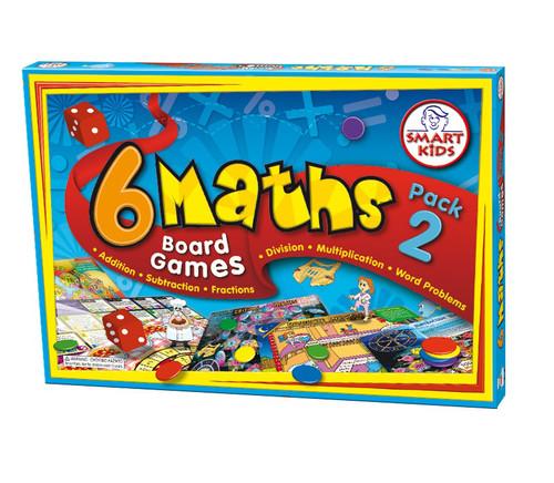 6 Maths Board Games - Pack 2 (Yrs 5-6)
