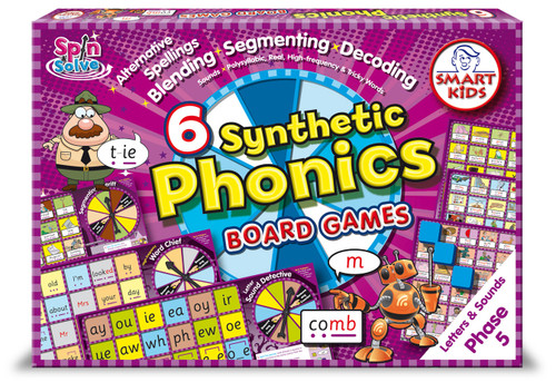Synthetic Phonics Board Games - Phase 5