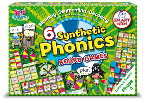 Synthetic Phonics Board Games - Phase 4