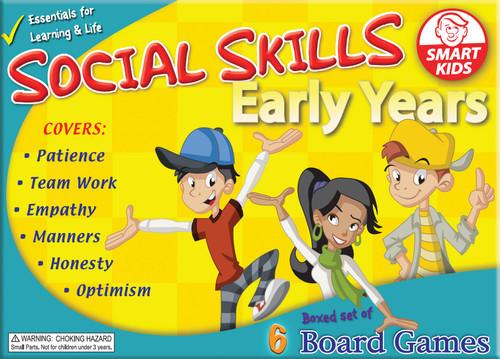 Social Skills Board Games - Early Years