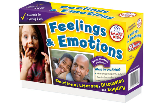50 Feelings and Emotions Activity Cards