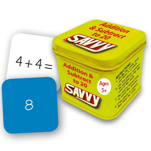 Addition and Subtraction to 20 Flash Cards