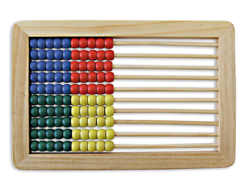 Wooden Desktop Abacus