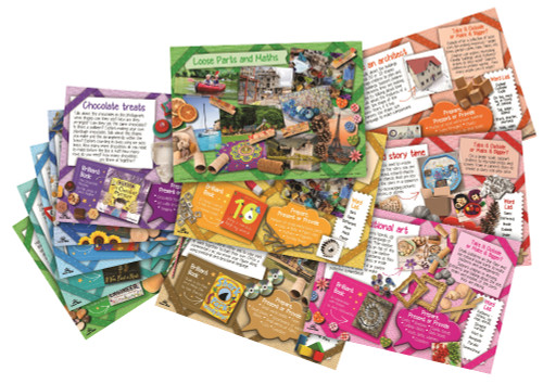 Loose Parts and More Maths Activity Cards
