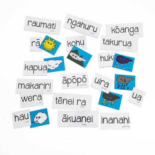 Maori Seasons & Weather Magnetic Set