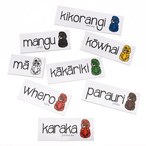 Maori Colour Magnetic Set