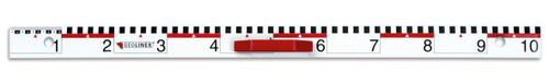 Magnetic Whiteboard Metre Ruler