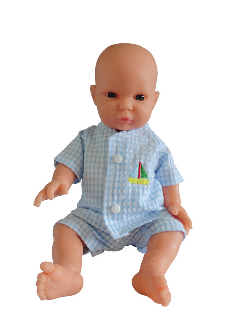 Tiny Doll Blue Play Suit