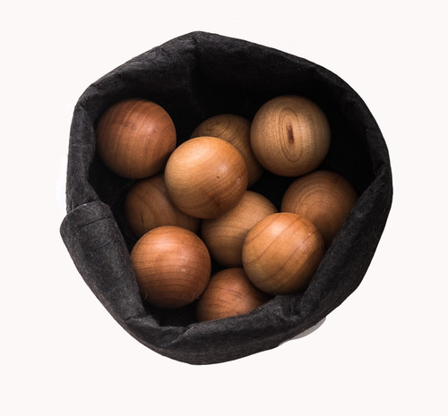 Weather Treated Wooden Balls - Small