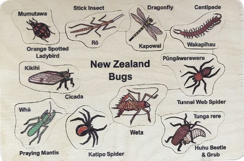 Bilingual NZ Bugs