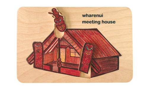 Wharenui Meeting House Puzzle