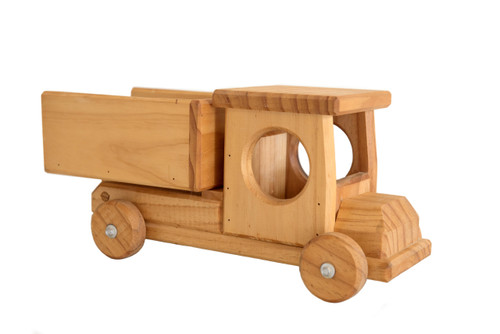 Small Wooden Tip Truck