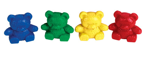 Three Bear Counters - 4 Colours