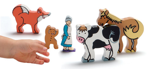 The Gingerbread Man Character Set