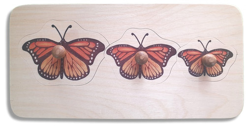 Monarch Puzzle (with knobs)