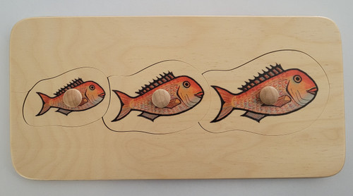 Snapper Puzzle (with knobs)