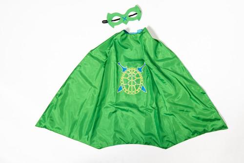 Hero Cape - Green/Turquoise