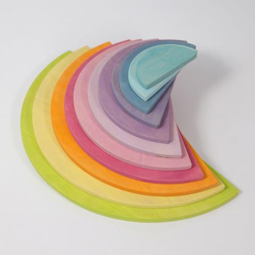 Pastel Semicircles