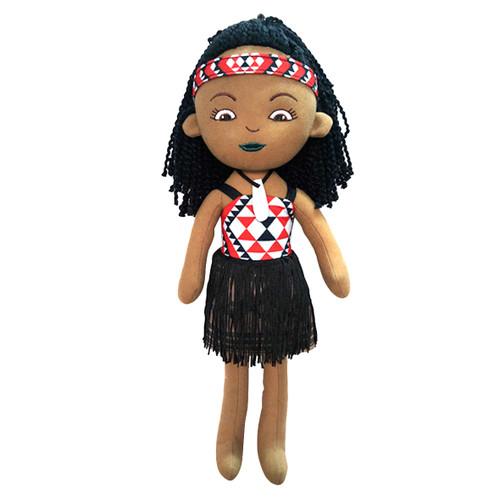 Maori Girl Doll