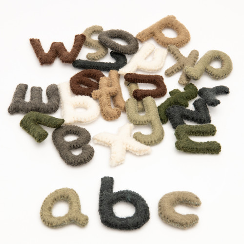 Natural Lowercase Letters