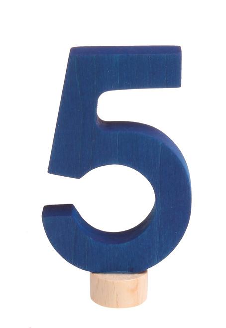 Decorative Number 5