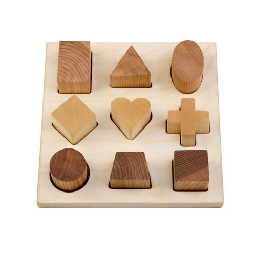 Natural Shape Puzzle Board