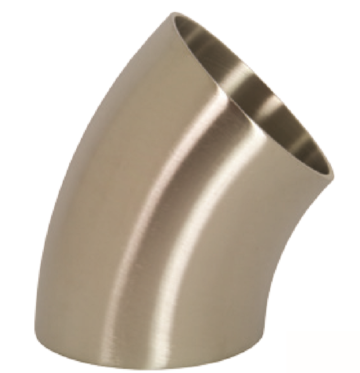 Polished 45° Weld Elbows - 3A