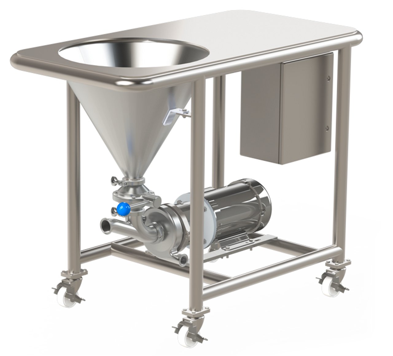 QDB SERIES Mixer for powders