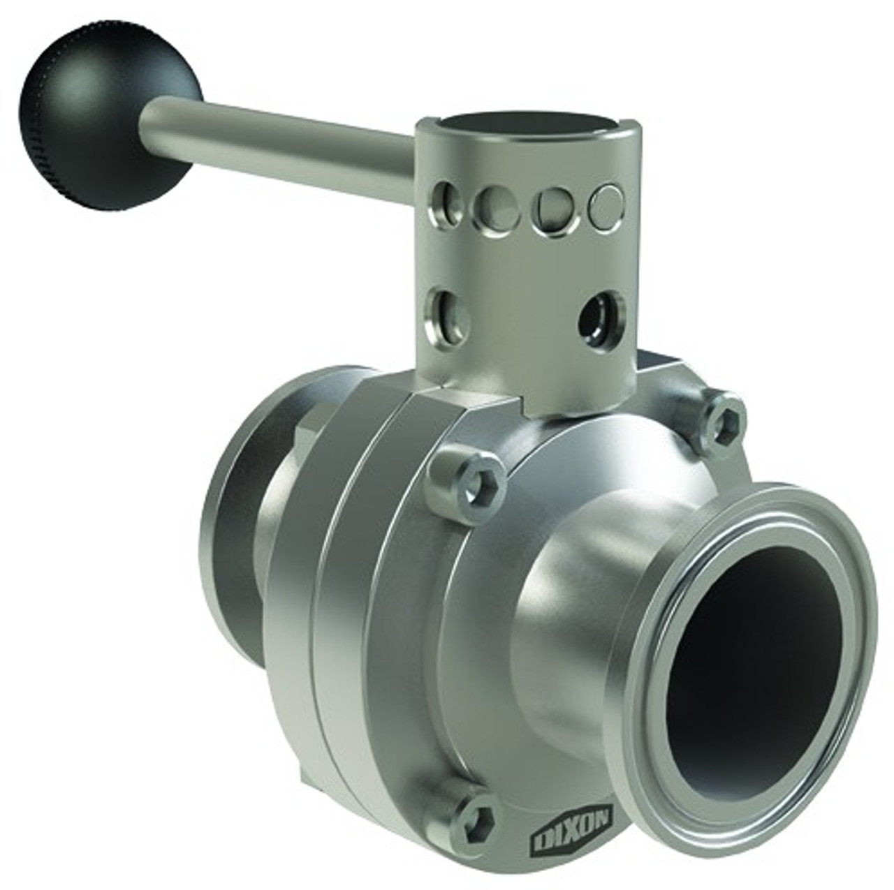 DIXON Sanitary™ B5101 Series Butterfly Valve with clamp ends