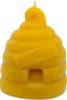 Large Skep Beeswax Candle is hand poured, made from 100% pure