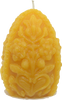 Fancy Egg Beeswax Candle