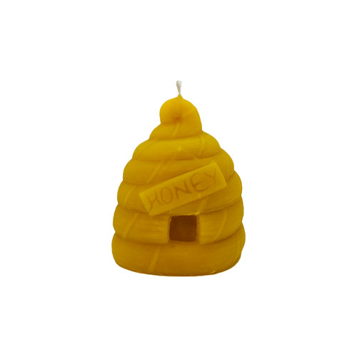 Large Skep Beeswax Candle
