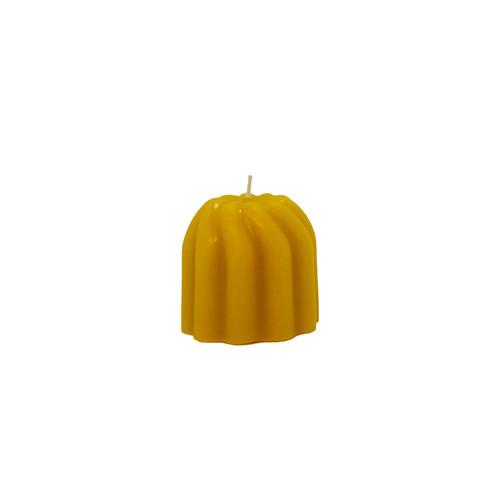 Swirl Votive Beeswax Candle
