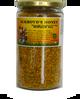 454g of 100% Pure Bee Pollen in glass jar.