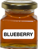 160g of 100% Pure Unpasteurized Natural Ontario #1 Amber Honey in a square glass jar.