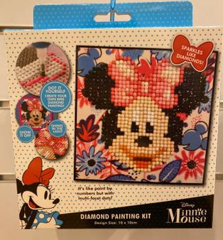 Tropical Minnie Diamond Painting Kit