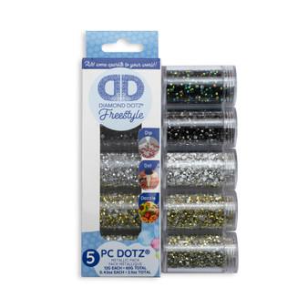 Dotz® Sampler Pack Metallic (7002, 7004, 7005, 7007, 7009)