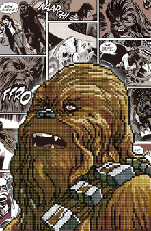 Chewbacca Diamond Painting Kit