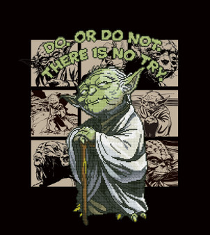 Yoda Diamond Painting Kit