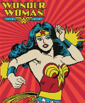 Wonder Woman Diamond Painting Kit