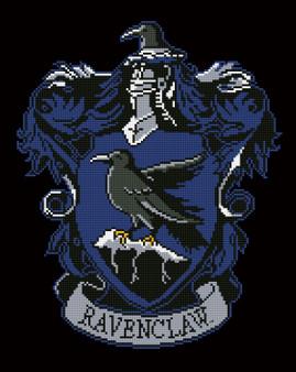 Ravenclaw Crest Diamond Painting Kit