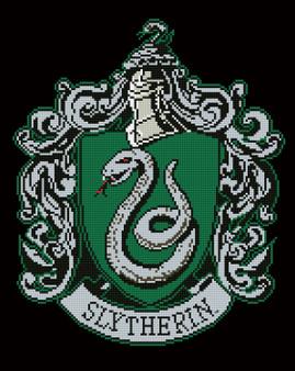 Slytherin Crest Diamond Painting Kit