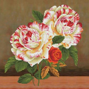 Camellia & RoseBouquet Pillowcase Diamond Painting Kit