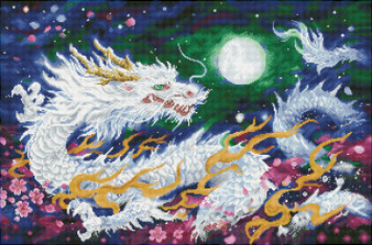 Dragon Flame Diamond Painting Kit