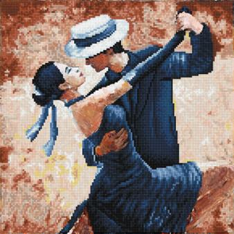 Tango Passion Diamond Painting Kit