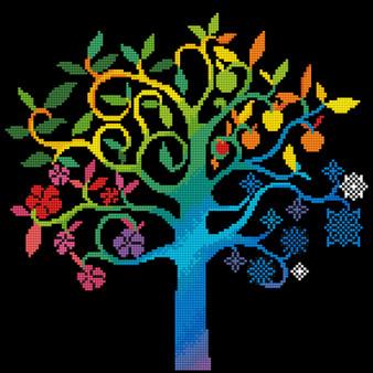 Wishing Tree Diamond Painting Kit