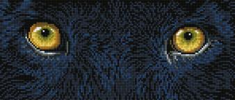 Black Panther Spy Diamond Painting Kit
