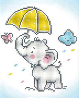 Baby Brollie Diamond Painting Kit
