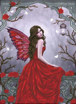 Winter Rose Fairy Diamond Painting Kit