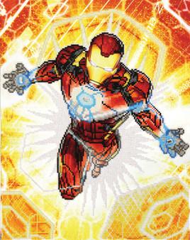 Iron Man Blast Off Diamond Painting Kit